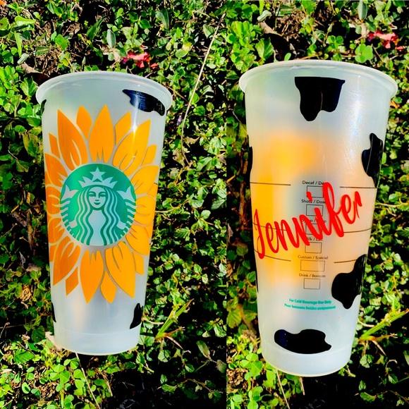 Starbucks venti cup custom made
